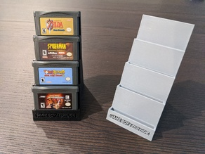 Game Boy Advanced Game Display and Storage