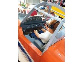 Cessna 188 Lower Dash Panel