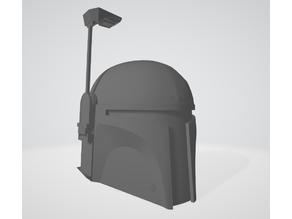 Boba Fett/Mandalorian Helmet Replica 1:1