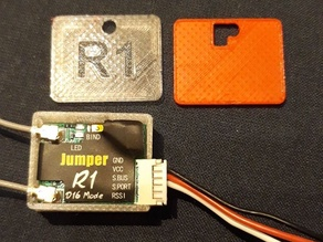 A housing for the Jumper R1 receiver