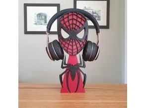 Spiderman Headphones Stand