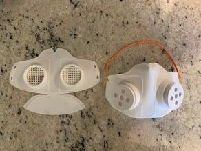 COVID19 Mask - Copper3D NanoHack Remix