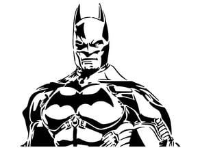 Batman stencil 3