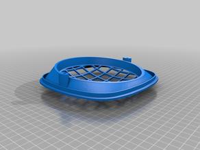 Simson KR51 headlight ring with grid/ Scheinwerferring mit Gitter
