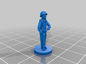 US Infantry - Toy Soldier WWII