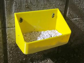 Wall Mounted Feeding Tray