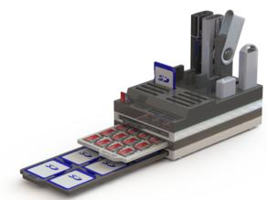 SD Card & micro SD Card Box with USB Stick Holder
