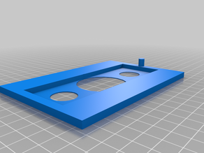 Mounting Frame Insert for Hydro-Bios Combined Plate Settling Chamber for Zeiss Axio Vert.A1 Inverted Microscope