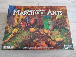 March of the Ants (and expansions) - Boardgame insert