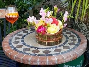 Flower grill for IKEA CYLINDER Vase/bowl