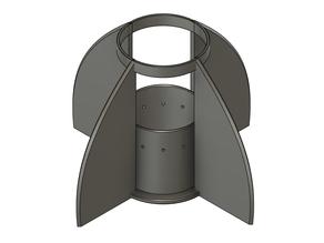 Rocket fins 84/80mm