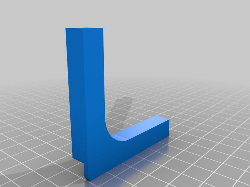 Acrylic corner holder