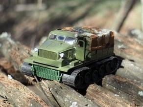AT-T - soviet artillery tractor