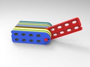 flip micro sd holder