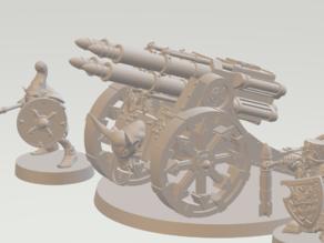 Chaos Dwarf Rockets Launcher Infernal Artillery