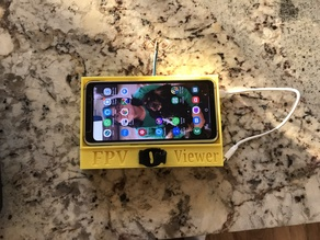 AOMWAY FVP Viewer phone holder fits Jumper T16 Radio