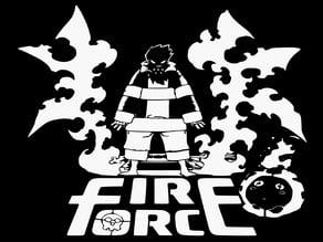Fire Force stencil