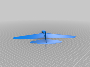 Bukobot Fly - Mod7 - Printable glider