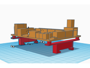 SKR 1.3,  1.4, 1.4 Turbo, MKS Gen L Simple Din Rail mount