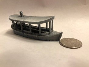 Jungle Cruise - Boat Model (Revised)