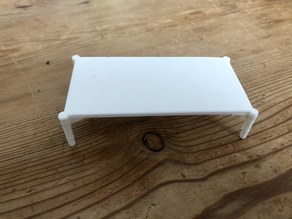 Low table for doll house