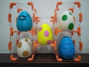 Hex Shelf for Surprise Egg