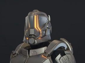 Halo 5 - Hellcat Helmet