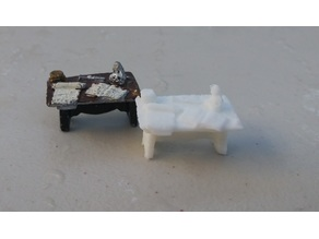 Replica of Grenadier Wizard's Room 2009C Miniature