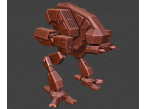 Mechwarrior 4 Vulture (From Opening Scene)