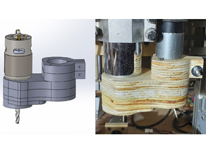 3018 CNC - Dust shoe upgrade
