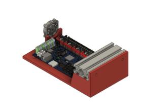 Bigtreetech SKR V1.4 Mount for 2040 Extrusion