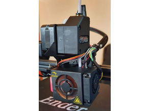 Ender-3 Direct Drive BMG BLTouch Stock Hotend