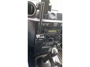 Land rover defender TD4 CB/Radio mount