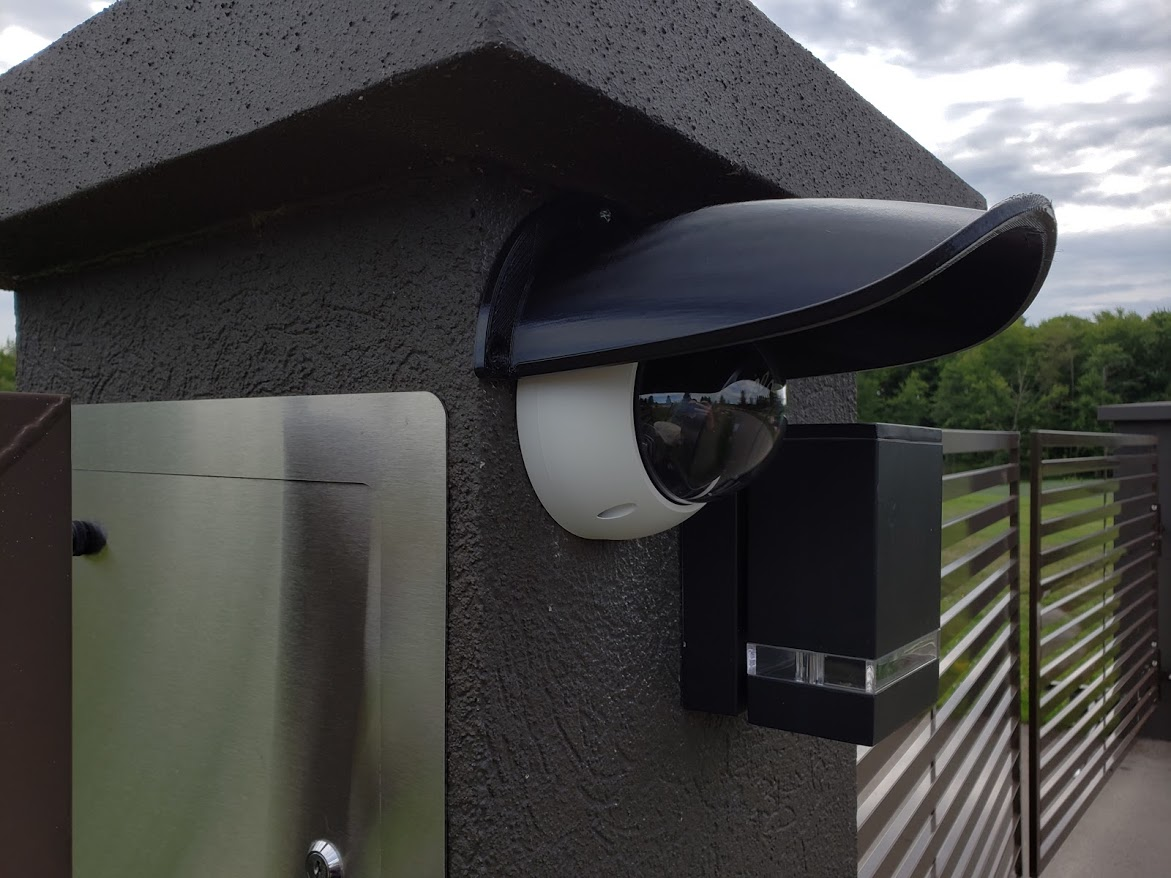 CCTV IP Dome Security Camera Rain Snow Shield Guard Cover