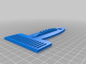 Spatula with Rake (MSLA-printer E. Mars or A. Photon)