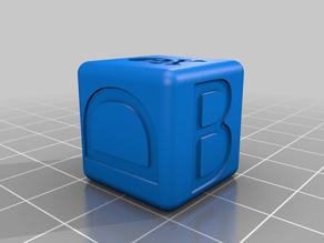 Calibration 20x20x20 cube (Marks' cube)