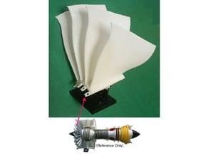 Jet Engine Component; Fan, Blisk type