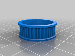 Idler Pulley GT2 toothed (Scalable FreeCAD model)