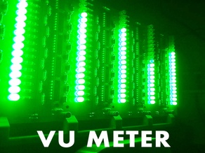 Audio Spectrum Analyzer (VU Meter)