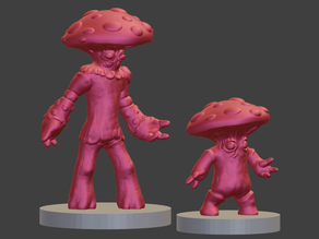 Myconids / Mushroom Men