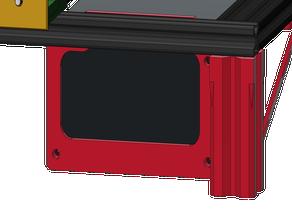 ATX mount for 2020 / 2040 profile - Creality Cr10 ( Standalone ATX mod )
