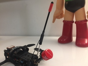 Micro/Nano Crossfire Antenna Vertical mount.
