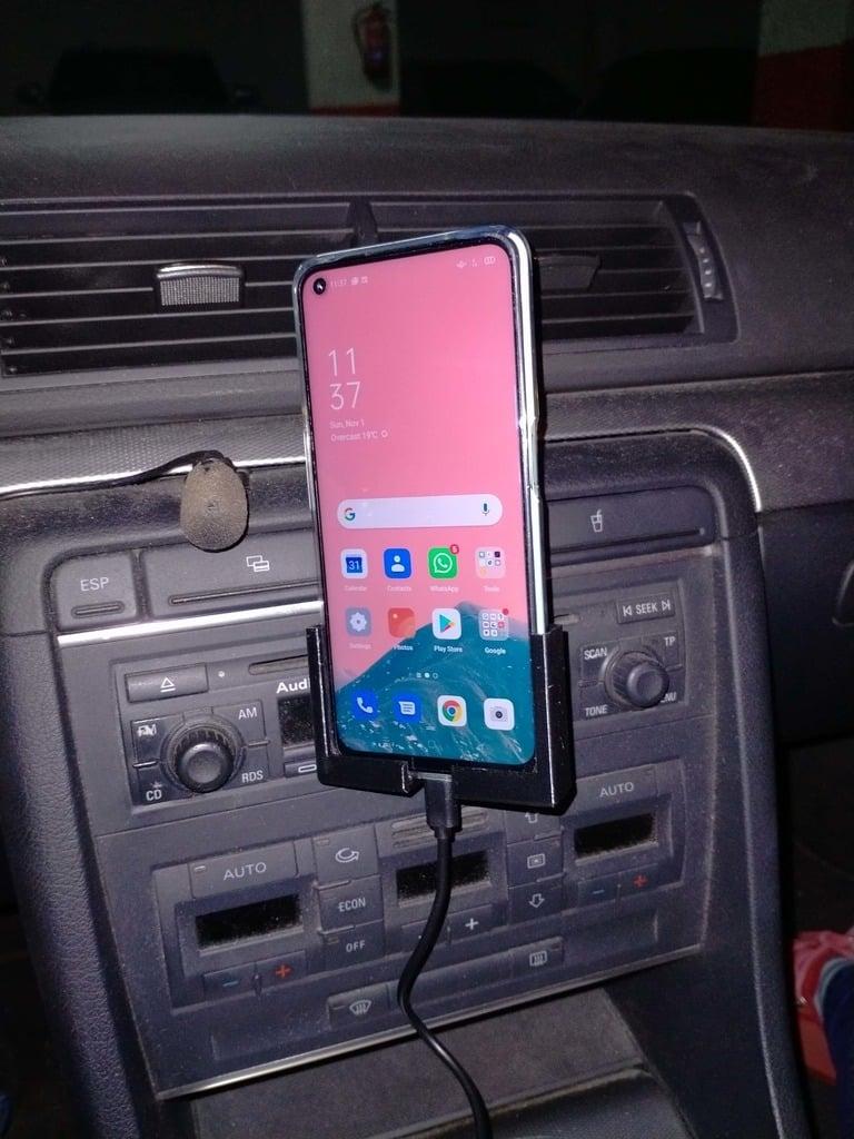 CD Car Slot Cellphone Holder for an OPPO A52