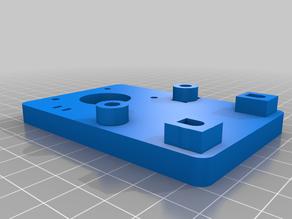 Laser Engraver X axis Adjustable Mini v wheel Roller
