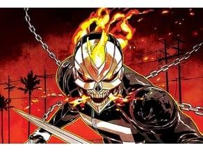 Ghost Rider Robbie Reyes Mask