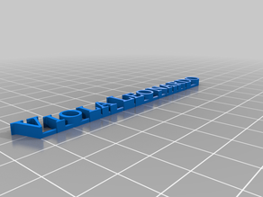 My Customized 3D name plate11