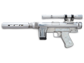Lando SOLO / TROS -  Custom SE-14r Blaster (updated parts & resized)