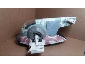 Slave 1 star wars Kenner  hasbro toy repro partsp