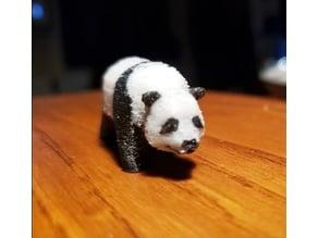 Panda in stride.