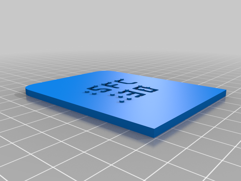 SFC DoorKnob Plate (Special Model)